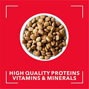 It contains high quality protein, vitamins and minerals which promote the healthy growth