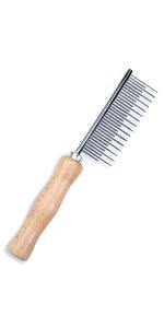 Safari Dog Shedding Comb (Longhair)