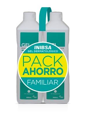 Geles Inibsa - Gel Dermatológico 1000 ml, Gel de ducha para el cuidado de la piel y el cabello, Ahorro Pack Dermatologico: Amazon.es: Belleza