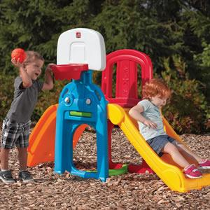 f9d211ecf2169 Amazon.com  Step2 Game Time Sports Climber And Slide  Toys   Games