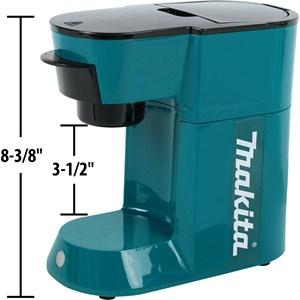 makita dcm500z 18v lxt lithium ion cordless coffee maker home improvement. Black Bedroom Furniture Sets. Home Design Ideas