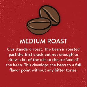medium roast coffee, whole bean, san francisco bay coffee