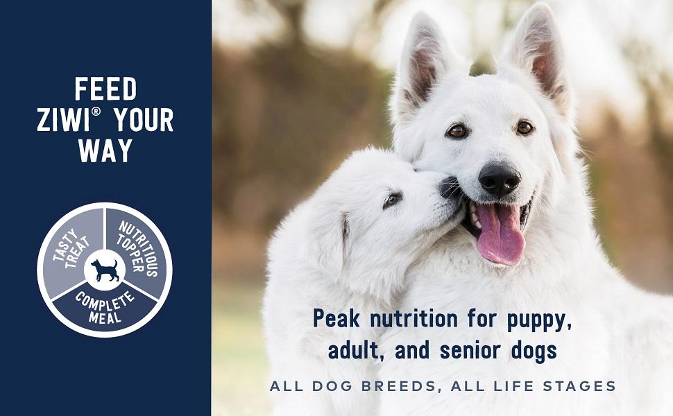 a;; dog breeds adult senior dog puppt treat booster mixer complete nutrient rich healthy premium