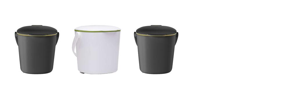 OXO Good Grips Cubo de basura para compost, Blanco