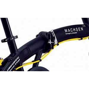 WACHSEN(ヴァクセン) 20インチ 折りたたみ自転車【軽量アルミフレーム】Angriff BA-100