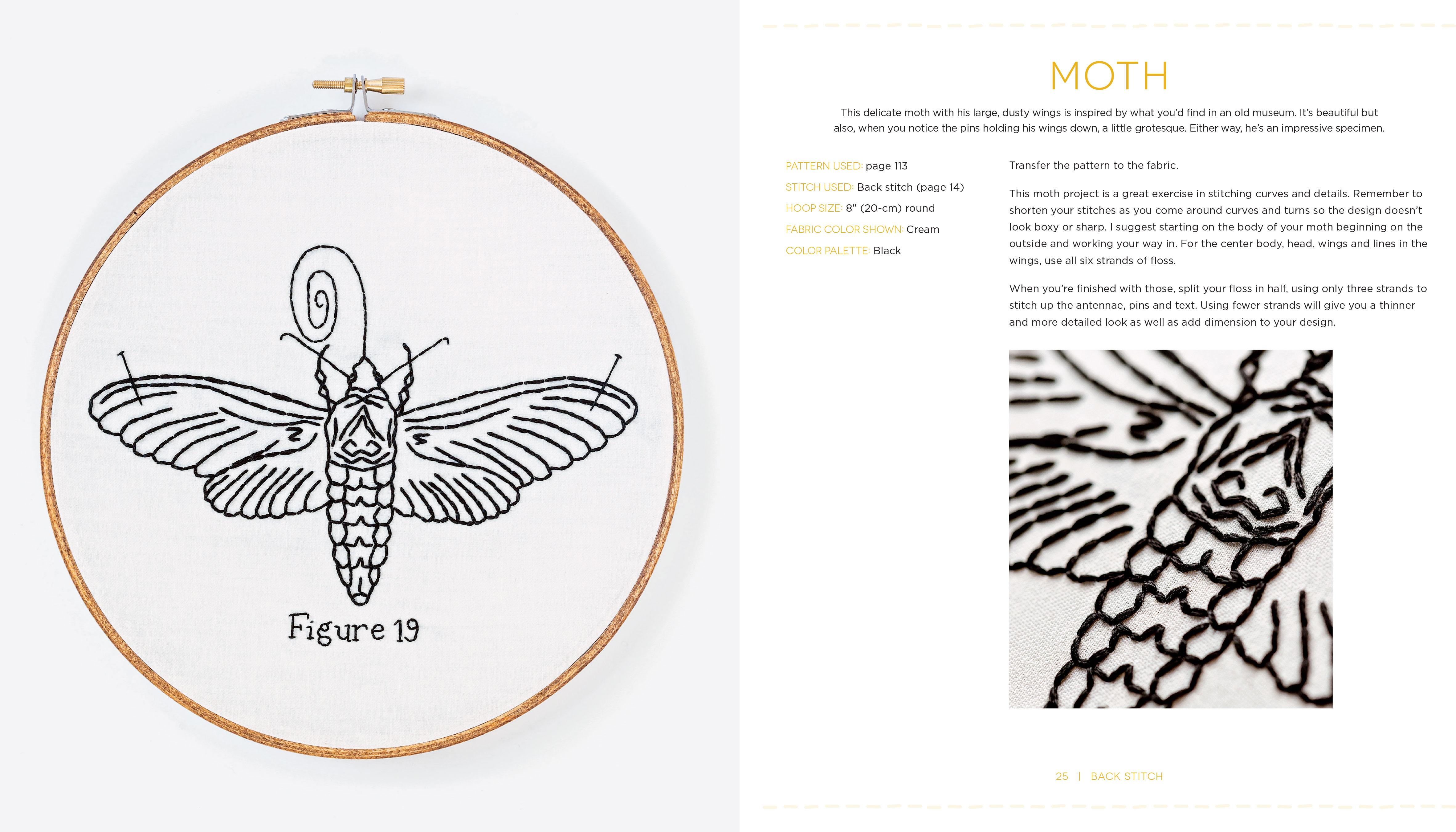 Edgy Embroidery Transform Conventional Stitches Into 25