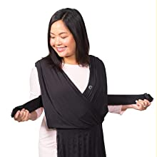 5759f420a9d Amazon.com   Infantino Together Pull-On Knit Baby Wrap Carrier   Baby