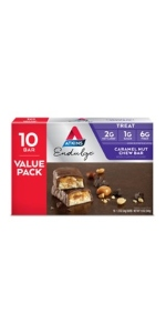 atkins caramel nut chew bar endulge low carb keto friendly treat