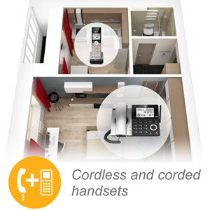 cordless and corded