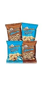 grandmas cookies chocolate chip peanut butter brownie oatmeal raisin