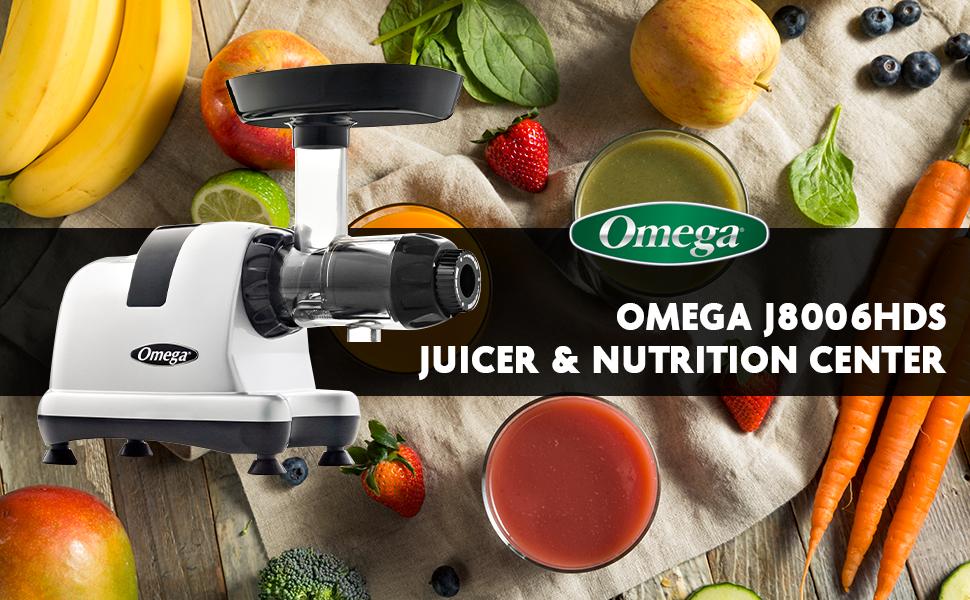 Omega J8006HDS Slow Juicer