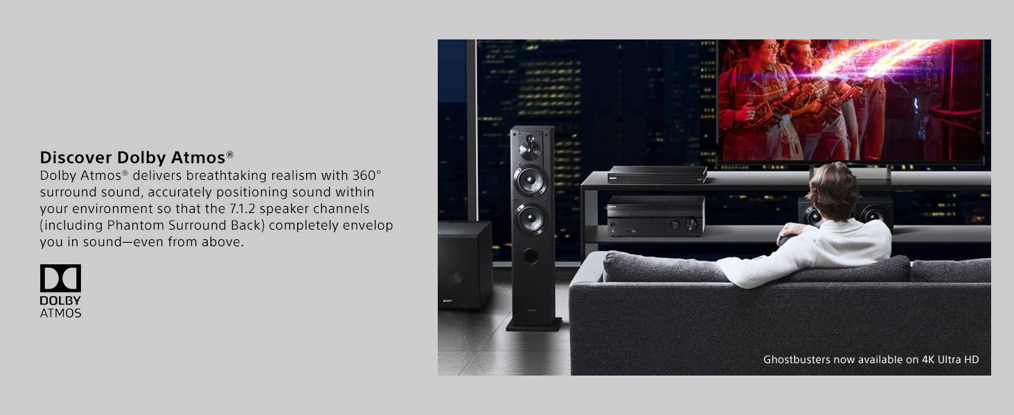 Sony Strdn1080 72 Channel Dolby Atmos Home Theater Av New Wiring Old House Cost Previous Page