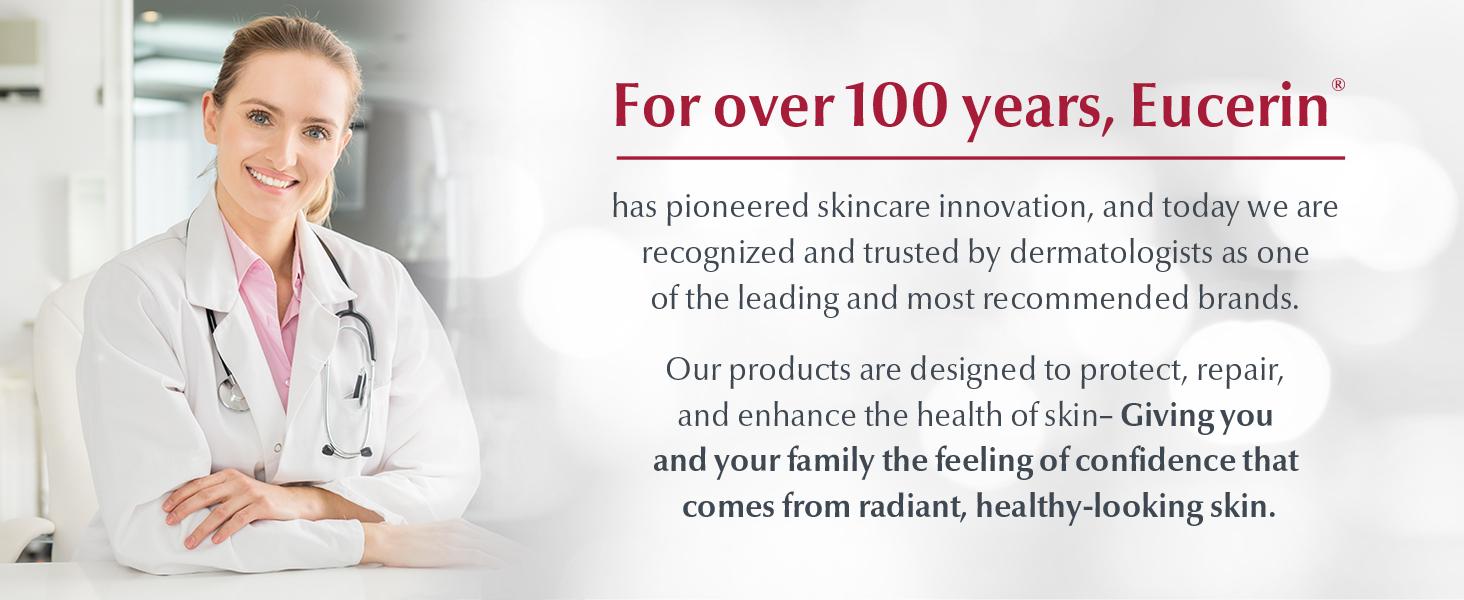 eucerin, eucerin skin care, skin care, skin cream, 100 years, innovation, face cream for women