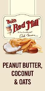 Bobs better bar peanut butter bars snack convenient oats oatmeal