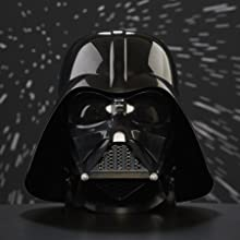 STAR Wars la serie Nero Darth Vader Casco elettronico Premium