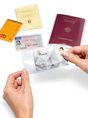 Funda para tarjeta de identidad.