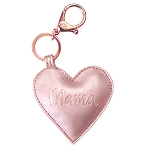 itzy ritzy, itsy ritzy, its ritzy, diaper bag charm, heart charm, diaper bag backpack, keychain