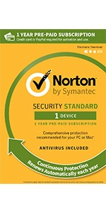 norton, 1 device