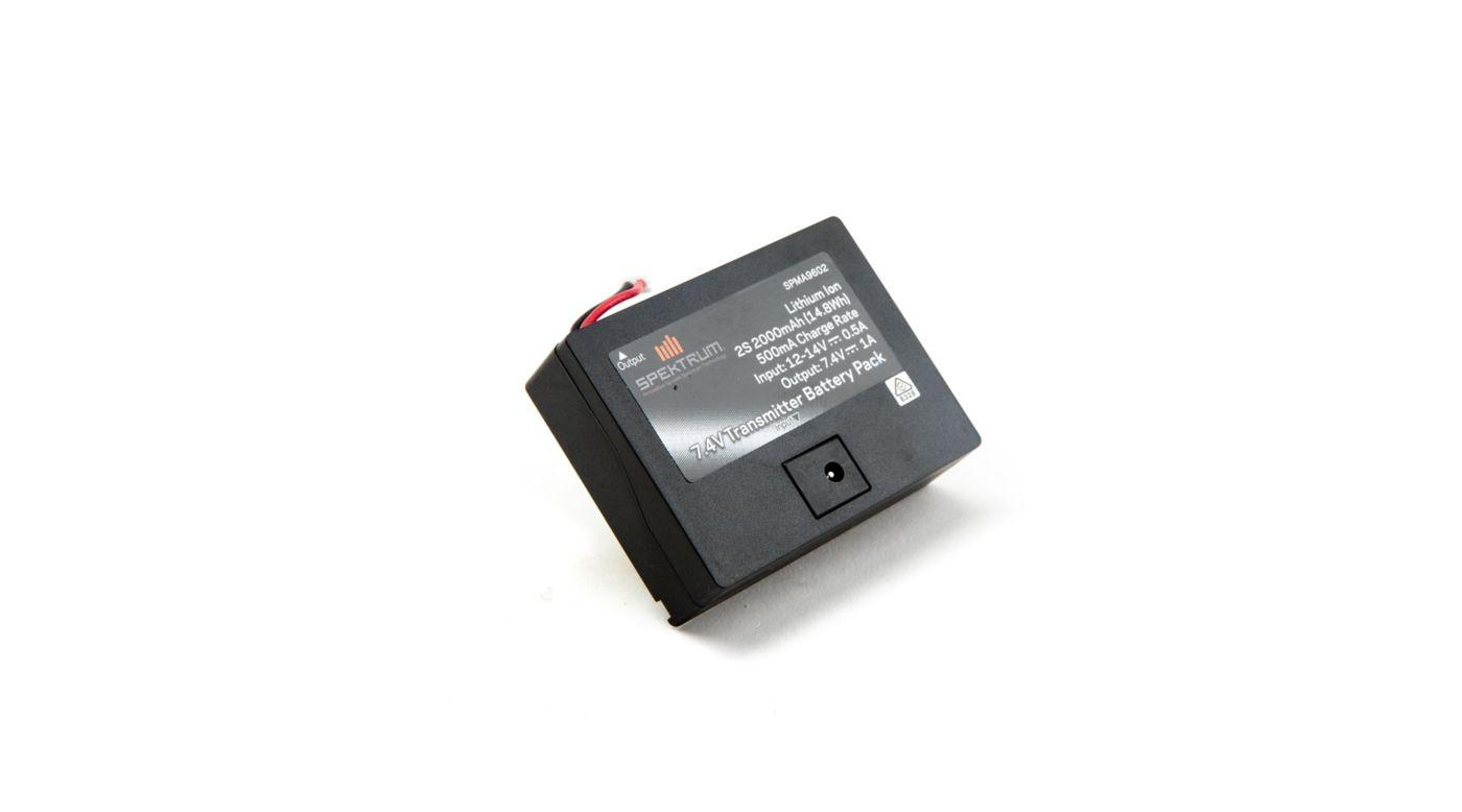 Spektrum 2000 Mah Tx Dx6 Dx7g2 Battery Toys Games Nicad Cycler For Rx And 2000mah Transmitter