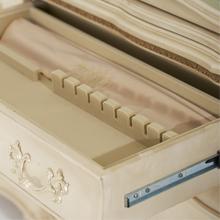 velvet lined drawer, cedar wood drawer
