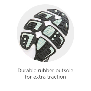 Rubber outsole