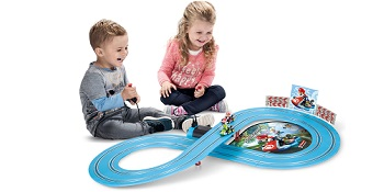 Carrera FIRST Slot Car Racing Sets For Young Kids Ages 3 and up.