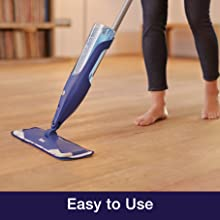 easy to use, fast drying, simple mop, clean floors easy