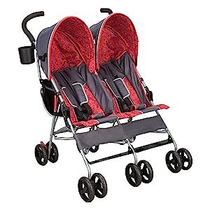 delta children tandem stroller baby twins side by side