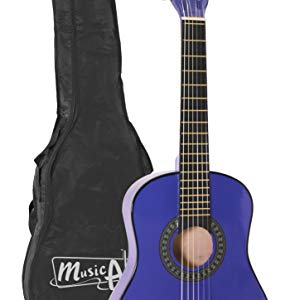 Música Alley junior guitarra Edad De 3 a 7 - Azul: Amazon.es ...