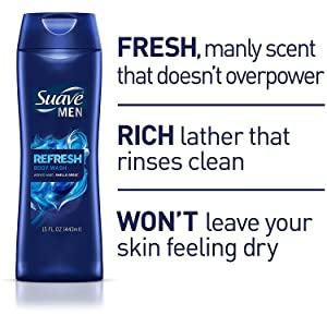 Suave Men - Fresh, Manly Scent Doesn't Overpower