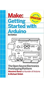 Make Arduino Bots And Gadgets Six Embedded Projects With border=