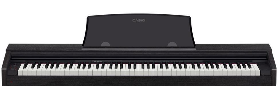 casio px770 bk privia digital home piano black musical instruments. Black Bedroom Furniture Sets. Home Design Ideas