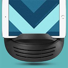 pratique porte-tablette intégré