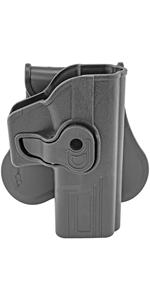 Swivel 360 Degree Paddle Holster Glock 17 22 23 31 32 34 35 Tactical Pistol