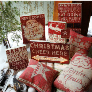 christmas xmas holiday decor decorations rustic funny saying primitives by kathy vintage farmhouse
