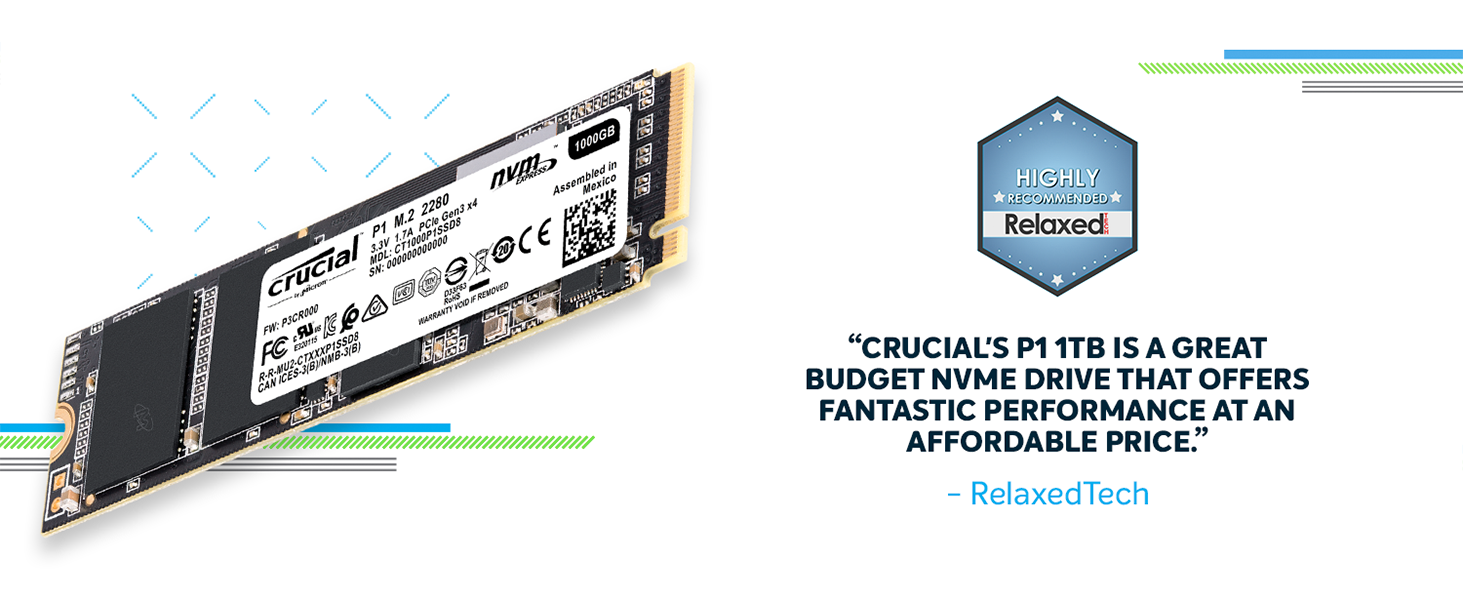 Crucial P1 Series M 2 Nvme Ssd 5 End 4 10 2020 2 07 Pm