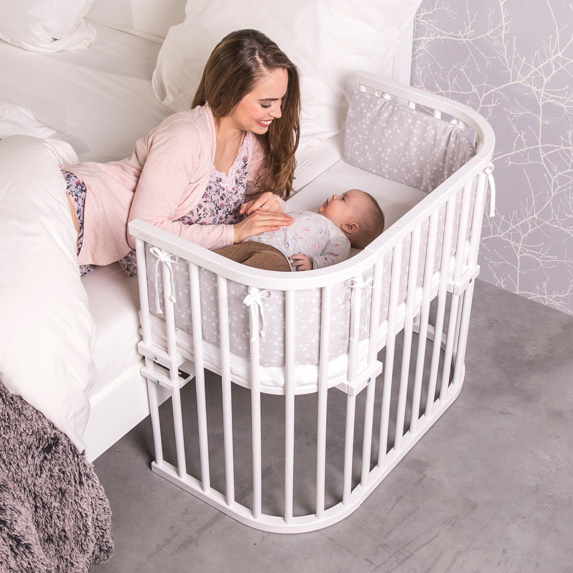 babybay maxi beistellbett natur lackiert baby. Black Bedroom Furniture Sets. Home Design Ideas