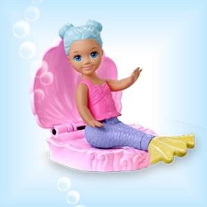 Barbie- Dreamtopia Playset Sirena con Due Bambole Piccole e Accessori, Giocattolo per Bambini 3+ Ann