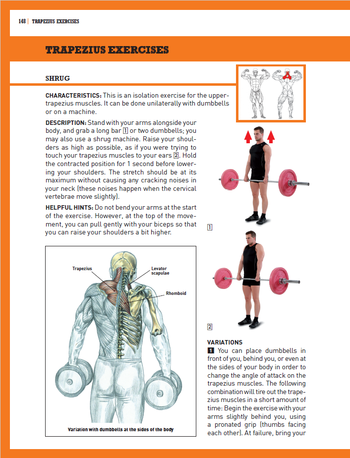 Strength training anatomy delavier