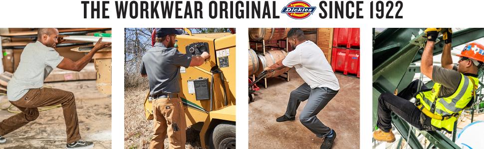 Dickies, Carhartt, Wrangler, Levis, 511 Tactical, work wear, jeans, tees, shirts, men's clothing