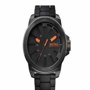 1366015c5 Amazon.com: HUGO BOSS Orange Men's Paris Quartz Stainless Steel ...