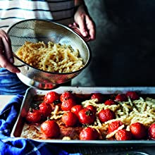 gemelli, blistered tomatoes, fresh ingredients, pasta