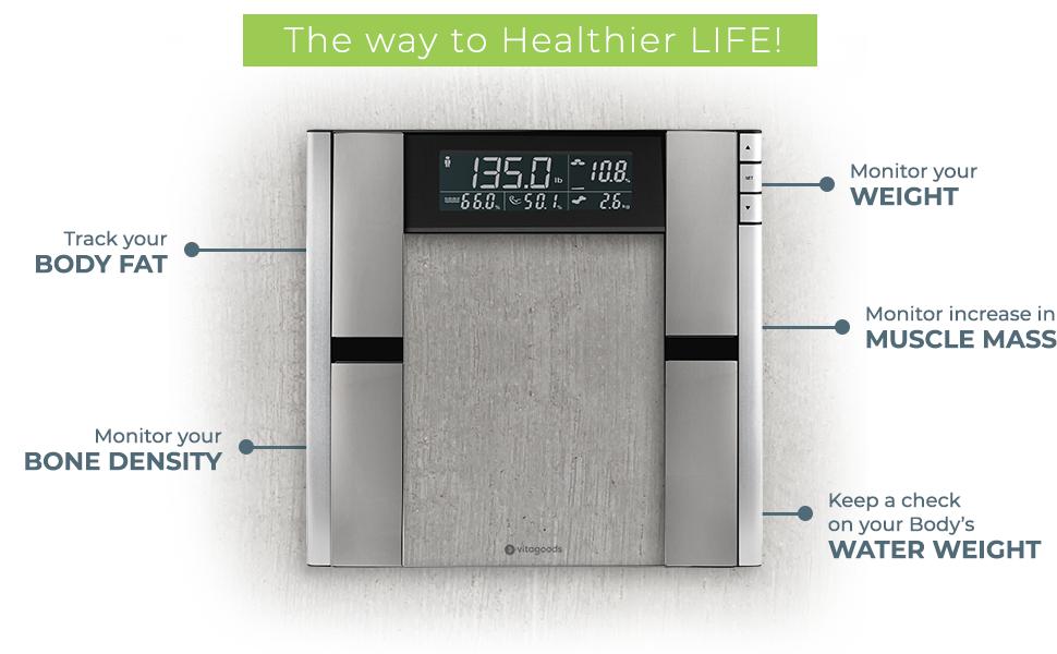 Form Fit Digital Scale and Body Analyzer