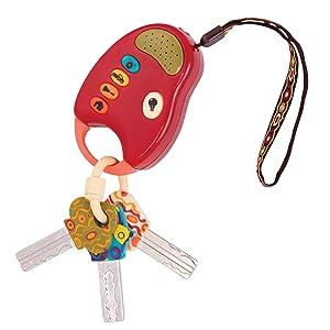 B. toys – Funkeys – Bunte Spielzeugschlüssel für Kinder und