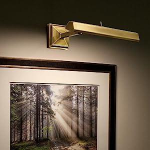 Hemmingway LED Picture Light, dweLED, LED light
