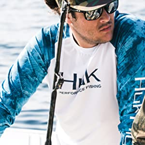 The Huk Performance Vented Long Sleeve is great for layering or wearing by itself