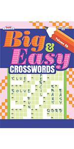Big & Easy Crosswords Puzzle Book