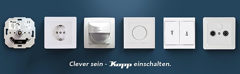 Kopp, elektrische installatie, elektrisch materiaal