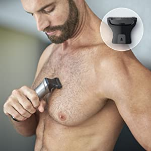 Bodyshaver with skin protector