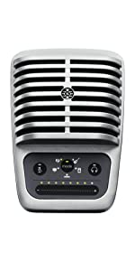 Shure, Motiv, MV51, Microphone, Desktop Microphone, Condenser Microphone, Digital Microphone